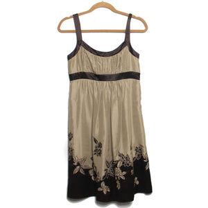 BCBG Strappy silk tank dress NWT Flaw. Upcycle!